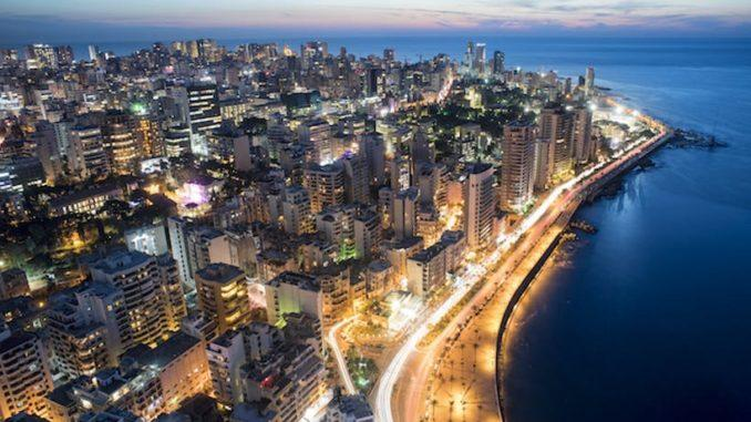 Бейрут – огромный мегаполис, столица Республики Ливан.
