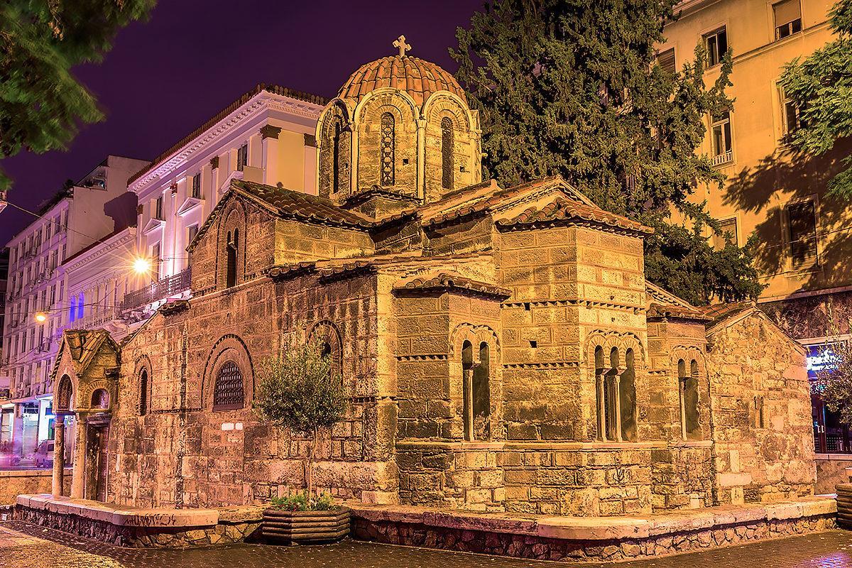 церковь Богородицы в Афинах