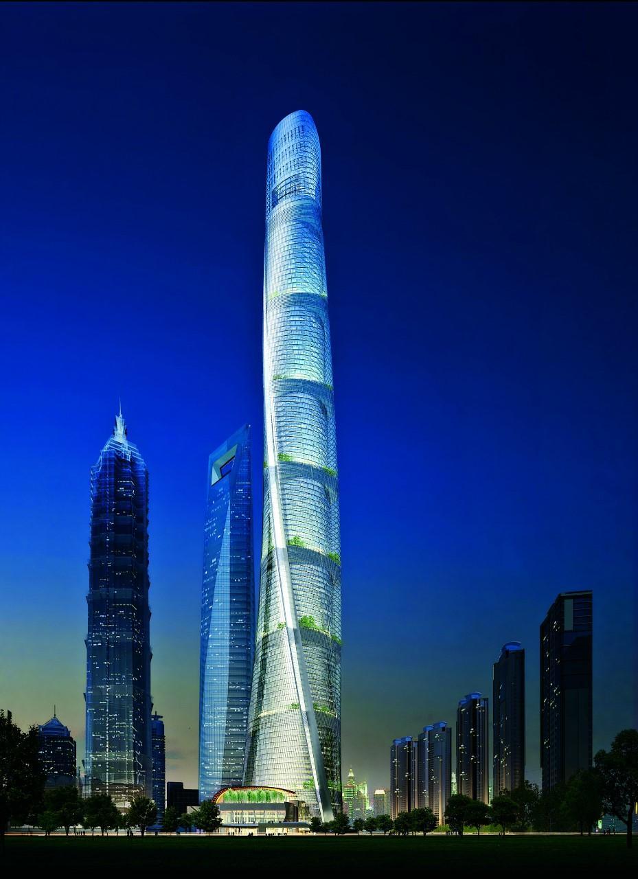 Самое высокое здание в Шанхае было построено в 2015 году. Высота шанхайской башни уникальной спиралевидной формы составляет 632 м. Как и в случае с Всемирным финансовым центром, башня стала офисным зданием, несколько этажей которого занял отель, рестораны, выставочные залы и смотровая площадка. Посетить смотровую площадку можно ежедневно с 8:00 до 22:30. Стоимость билета зависит от возраста гостя, поэтому при себе надо иметь паспорт.