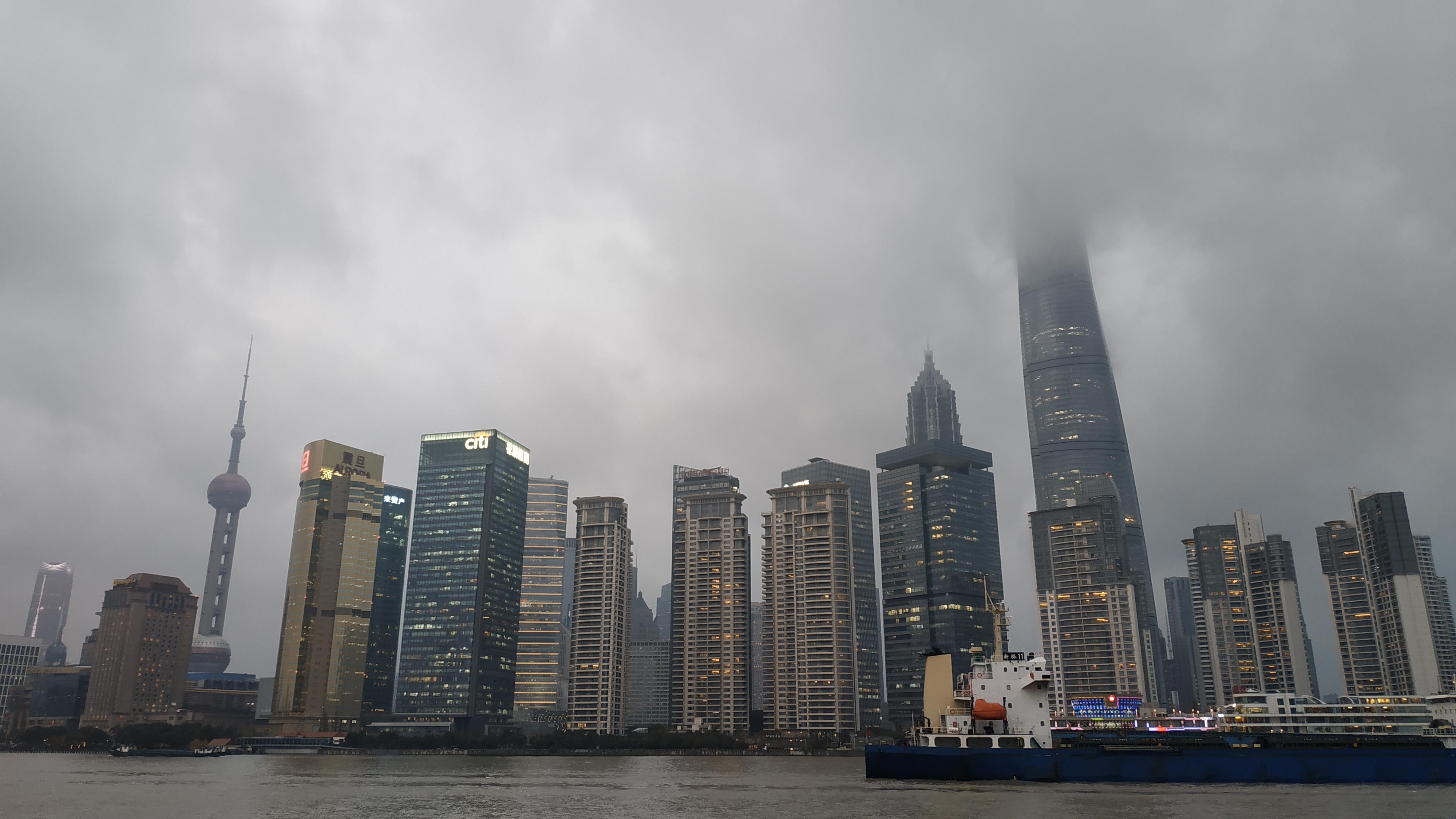 Один из трех небоскребов, выстроенных в районе Пудун, имеет высоту 492 м. Он был возведен в 2008 году, но до сих пор входит в десятку высочайших строений в Азии.