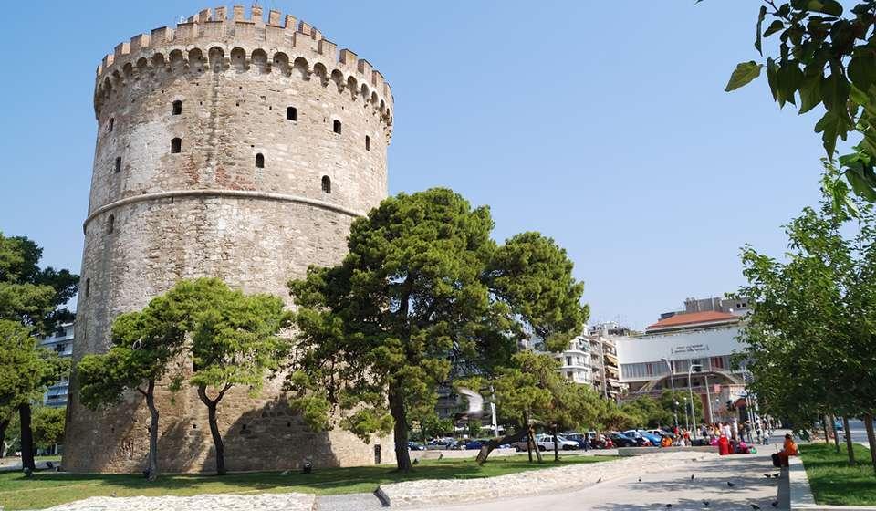 Одно из городских достопримечательностей Салоников – это византийское укрепление, возведенное для обороны Халкидики.