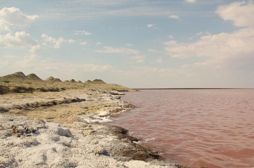 Водоем расположен на севере Крыма у Красноперекопска, по форме похож на грушу. В нем добывали соль те, кто владел Крымом во все времена.