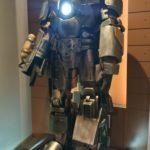Железный человек, большой павильон выделен под супер героев Марвел