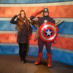 Фото с капитаном Америка в Шанхайском Диснейленде