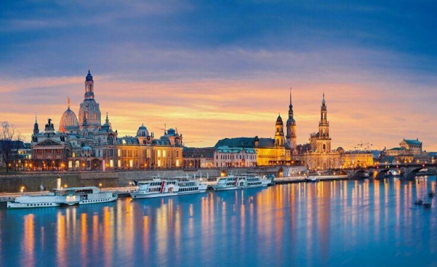 Я начинаю свое турне с Дрездена, столицы исторической земли Саксония
