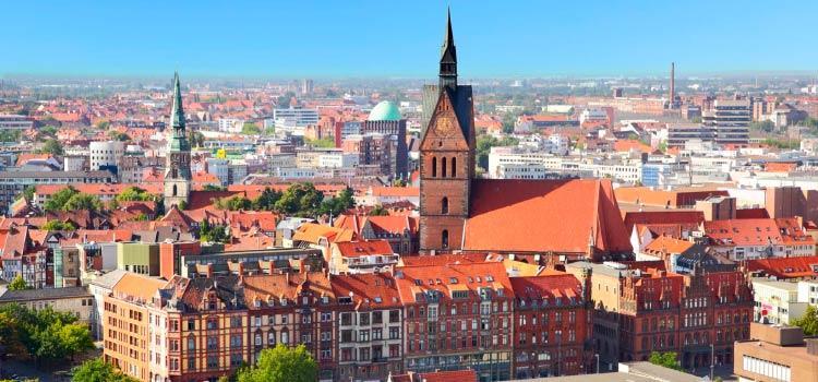 После Восточной Германии пора двигаться на запад в Ганновер