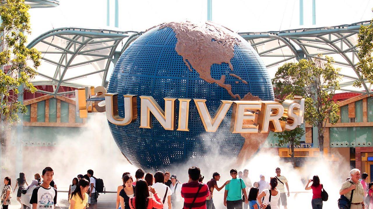 Парк развлечений Universal Studios Singapore – это подобие Диснейленда