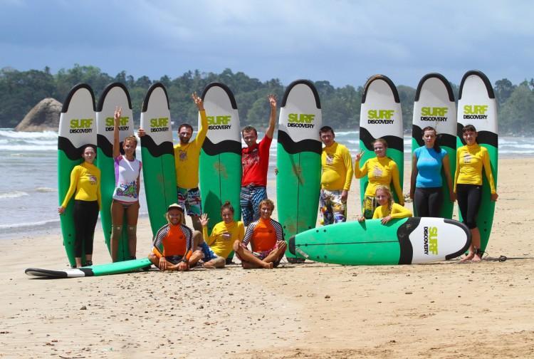 Для тех, кто уже проходил «начальную школу» серфинга раньше здесь есть возможность повысить квалификацию