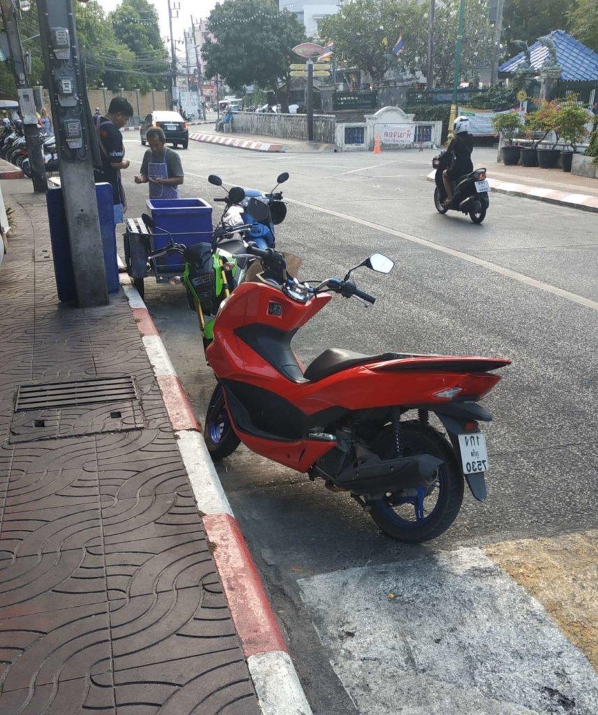 Правила парковки в Таиланде