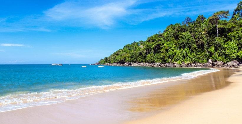Описание пляжа Нанг Тонг на курорте Као Лак