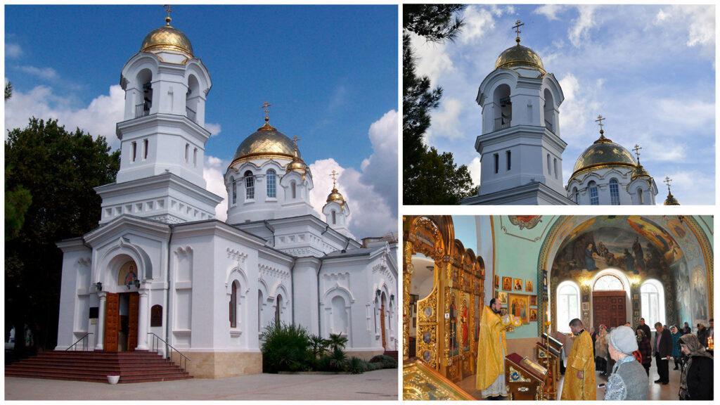 Величественный Свято-Вознесенский собор основали в 1909 году. Проектировал его архитектор Васильев, а внутренней росписью занимался живописец Сарахтин.