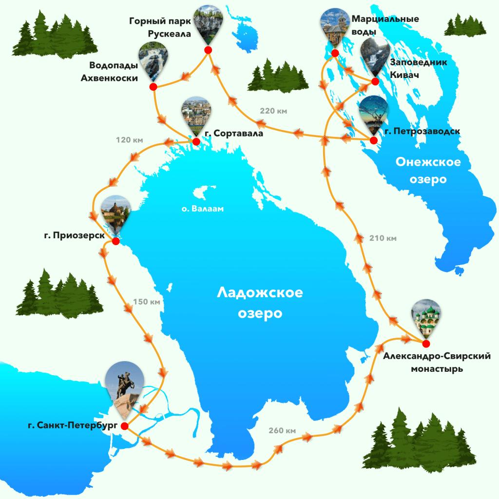 Самый распространенный вид отдыха в Карелии - это отдых с палатками на берегу озера.