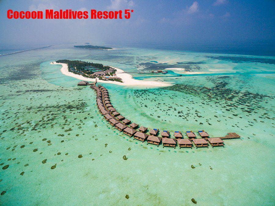 Отель находится на острове Ookolhufinolhu на атолле Llaviyani. До сюда от аэропорта можно добраться на гидросамолете за 30 минут.