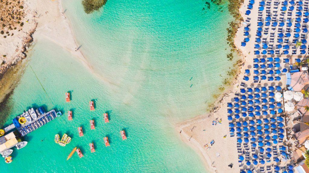 популярные пляжи Кипра
