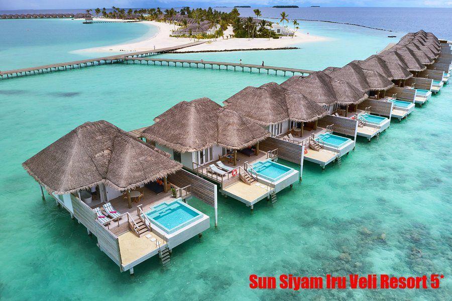 Отель находится на атолле Dhaalu, от аэропорта Velana 40 минут на гидросамолете .